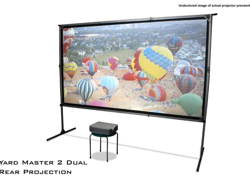Yard Master 2 Dual Series Rear Projection