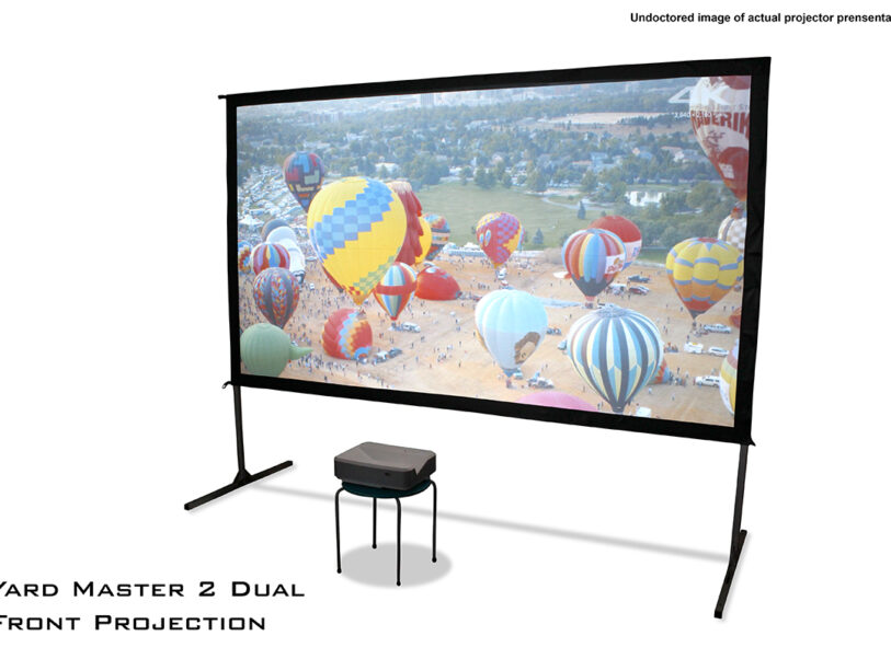 Yard Master 2 Dual Series Front Projection