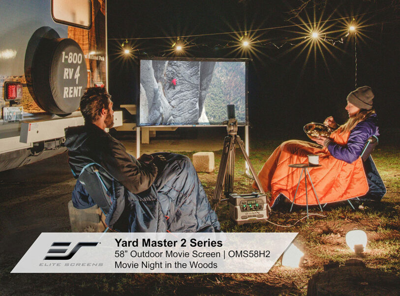 Yard Master 2 Series 58 inch Model Movie Night in the Woods