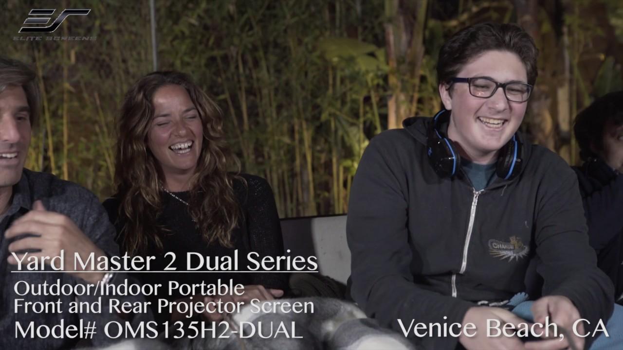 Yard Master 2 Dual Projection Screen Review with Juan Feldman