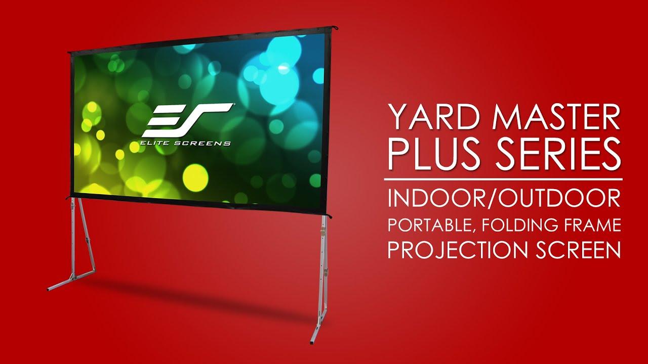 Yard Master Plus Portable Indoor/Outdoor Projection Screen