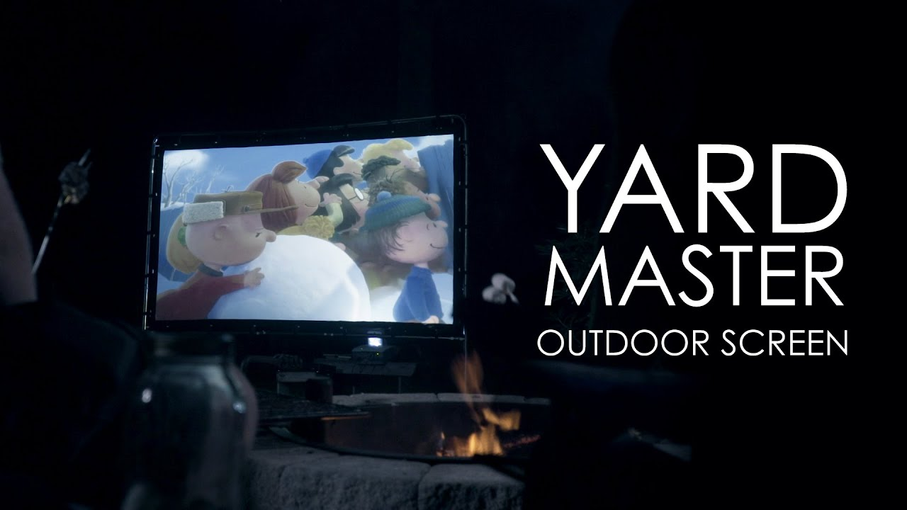 Yard Master Series (OMS103HR) Outdoor Projection Screen