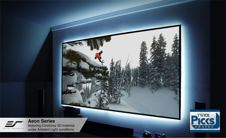 Aeon CineGrey 3D® Series Shown with Optional LED Kit