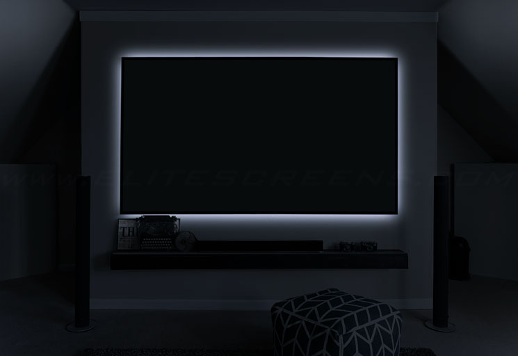 Aeon CineGrey 3D® Series Shown with Optional LED Backlight Kit