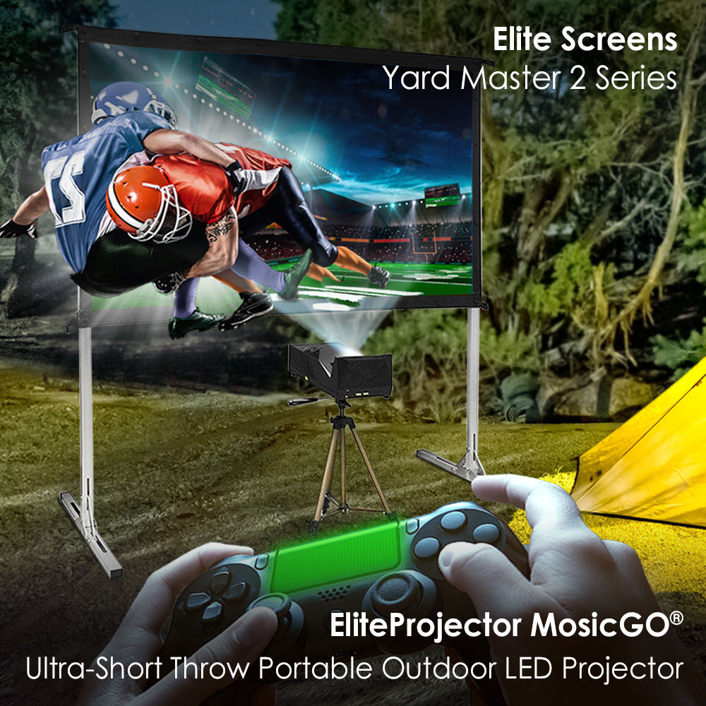 Outdoor Projector Screens YardMaster2