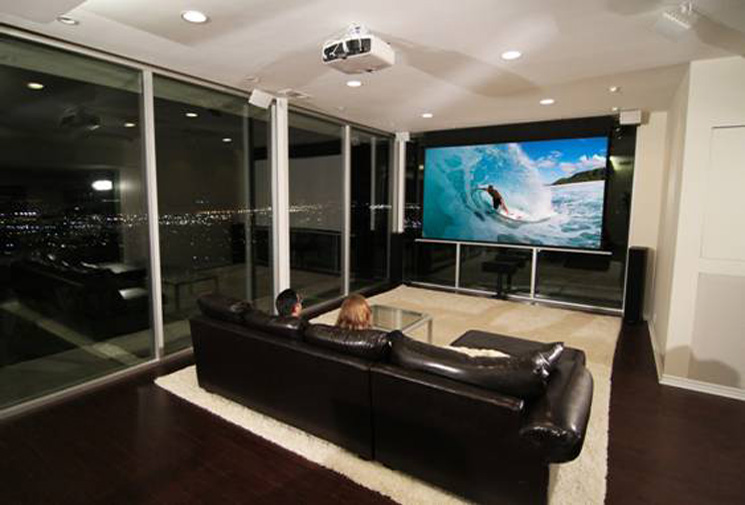 Evanesce Tab-Tension Series In Home Theater