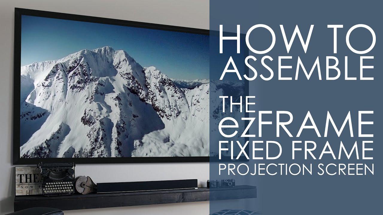 ezFrame CineGrey 5D® Assembly/Installation Video