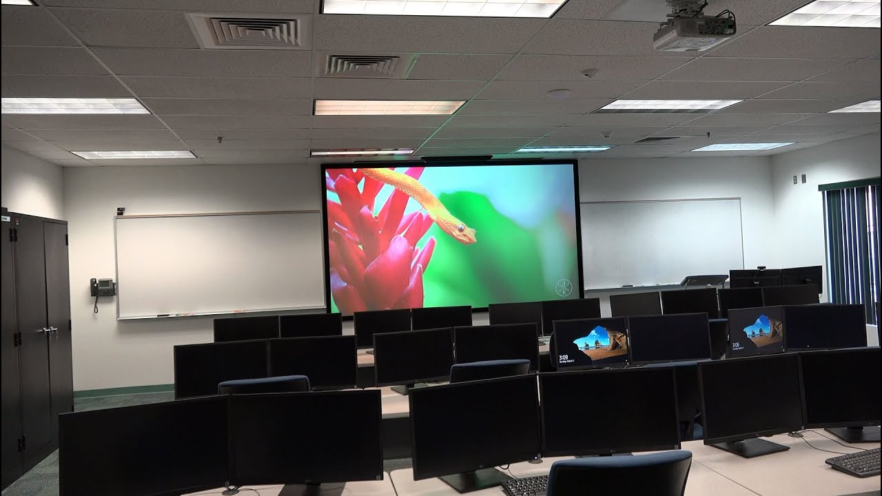 ezFrame CineGrey 5D® Series at Northland Pioneer College in Show Low AZ
