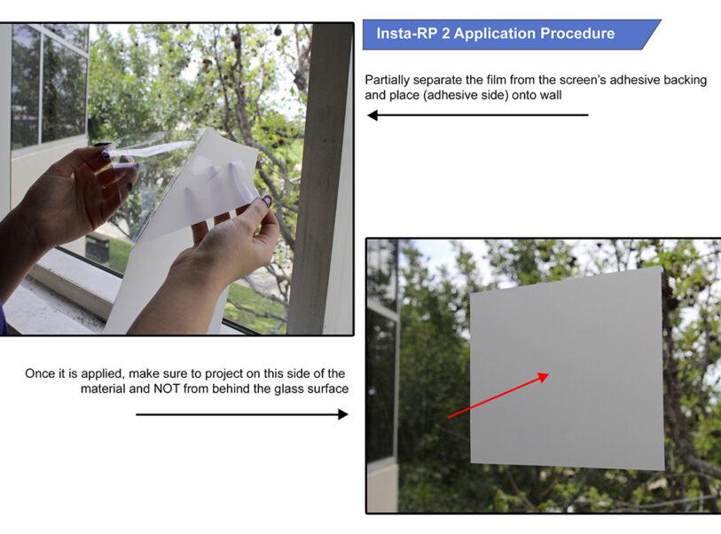 Insta-RP 2 Series Application Procedure