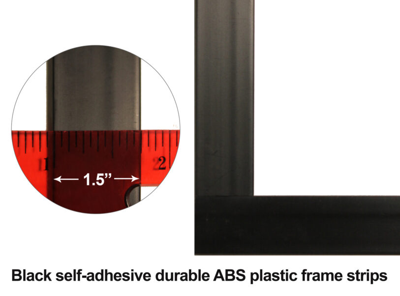 Frame Included with Model Numbers IWB5X10W2AF and IWB5X20W2AF