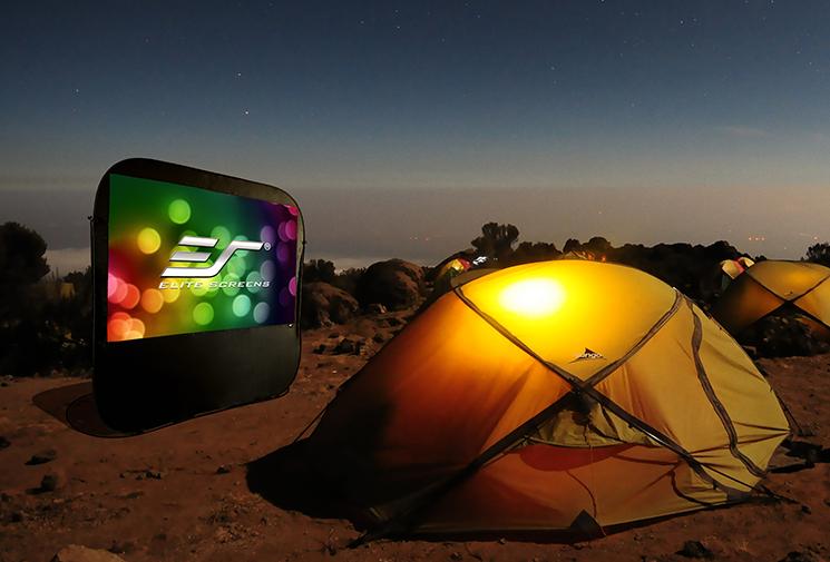 Pop-up Cinema Series Camping Environment