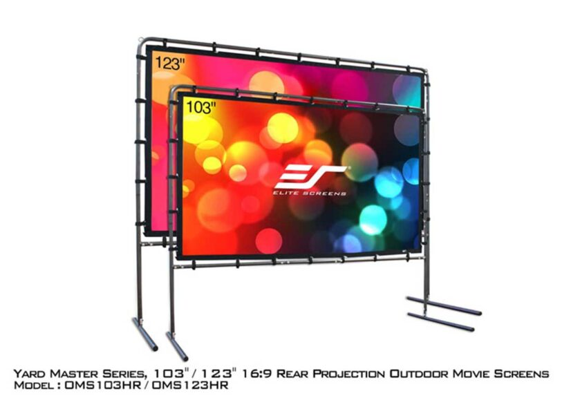 Yard Master Series Rear Projection Screens