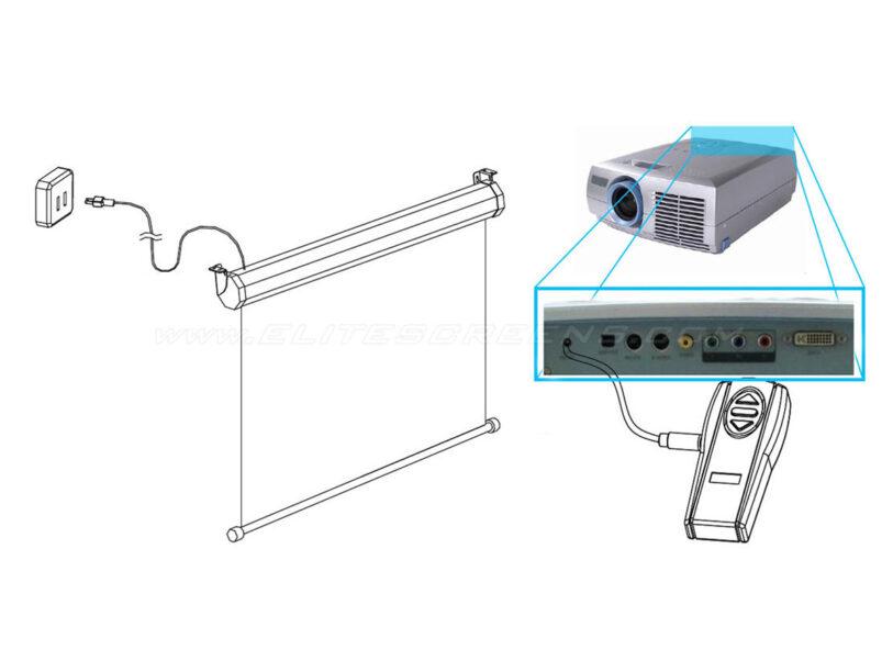 Wireless 5-12V Trigger - ZSP-TR01 Illustration